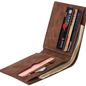 Kožená pánska peňaženka Brown