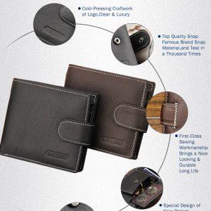 Pánska peňaženka z kože - 2 varianty